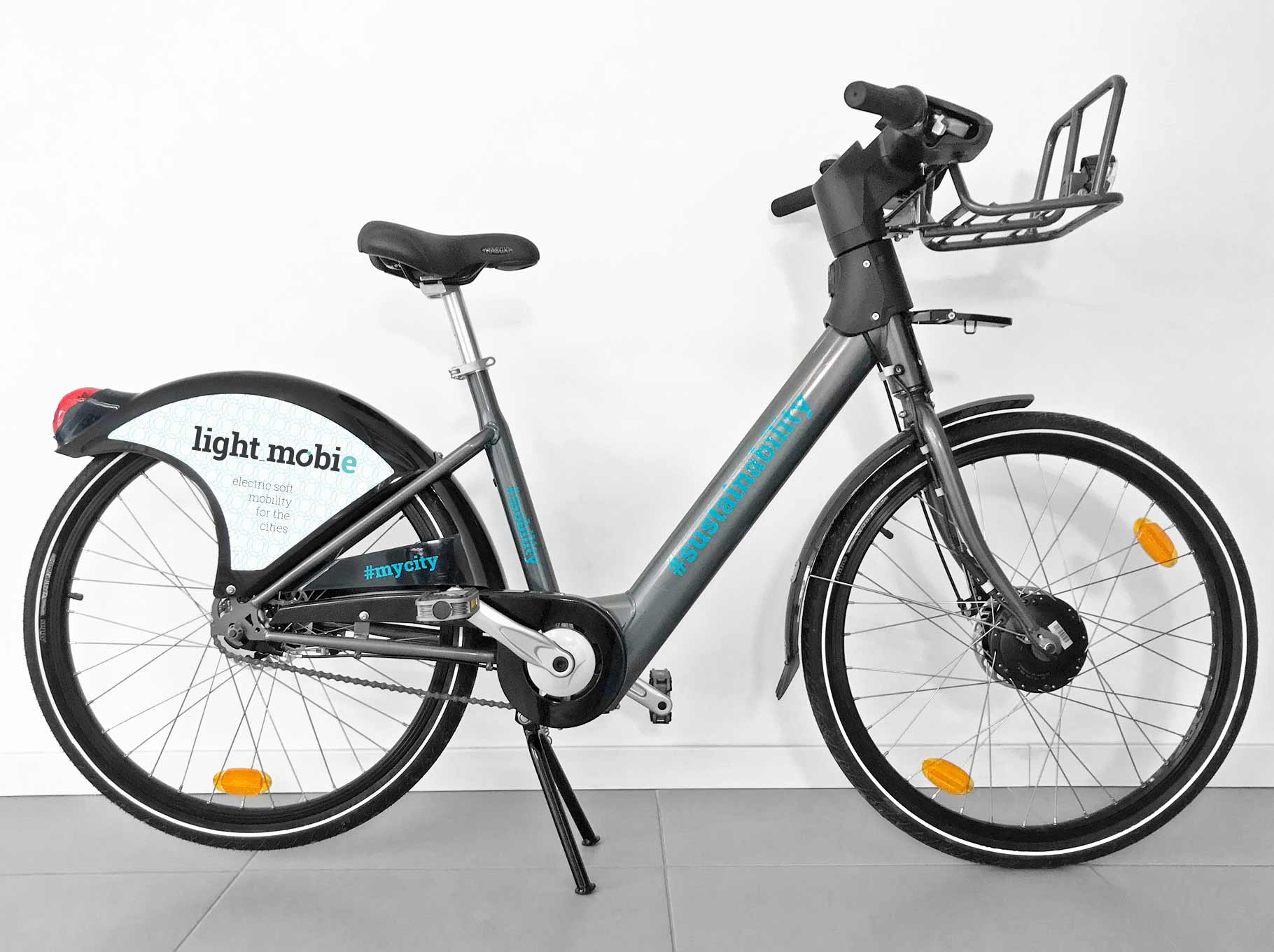 bicicleta partilhada Bike sharing urban electric