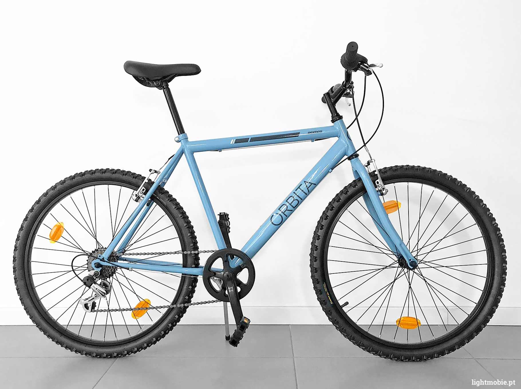 bicicleta orbita demios azul